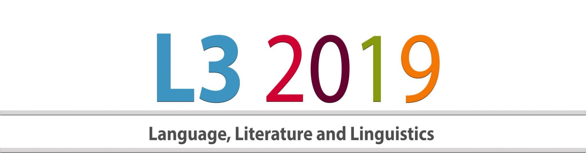 Conference on Language, Literature & Linguistics – L3 2019